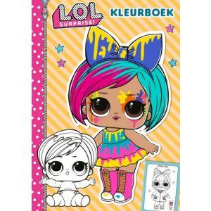 Kleurboek LOL Surprise gele kaft