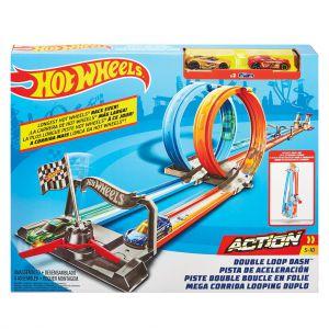 Hot Wheels Double looping speelset