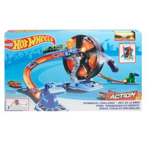 Hot wheels Action SpinWheel uitdaging