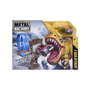 Metal Machines T Rex Playset Zuru - Racebaan Met Diecast Auto