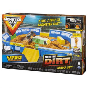 Monster Jam 1:64 Dirt Arena Playset
