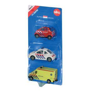 Siku hulpdienstenset met 3 auto's