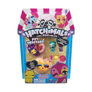 Hatchimals Colleggtibles S7 4 Pack Pet Lover Assorti