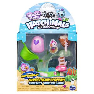 Hatchimals CollEGGtibles Water Slide Playset Season 5