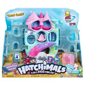 Hatchimals CollEGGtibles Coral Castle Playset