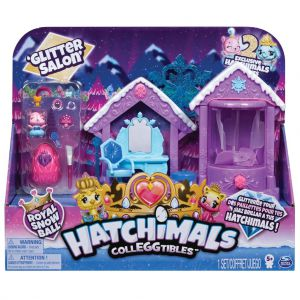 Hatchimals glitter salon speelset