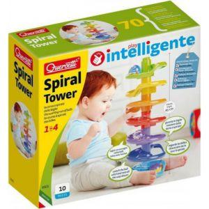 Knikkerbaan Quercetti Spiraal Tower 10 delig
