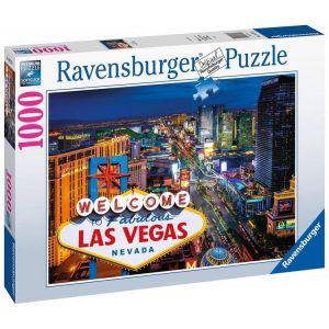 Puzzel 1000 stukjes Las Vegas