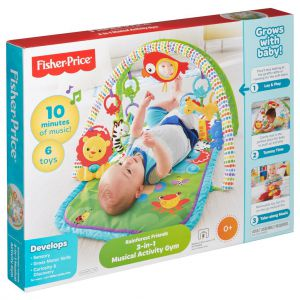 Fisher-Price 3-In-1 Muzikale Activity Gym