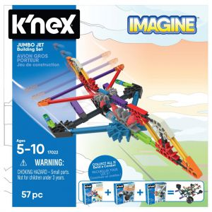 Knex Building sets Jumbo Jet