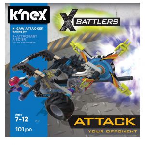Knex X Saw Attacker