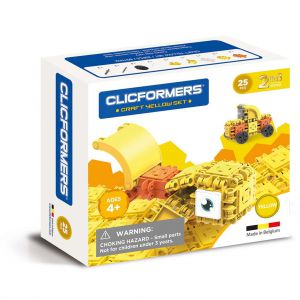 Clicformers Craft Yellow Set 2 In 1