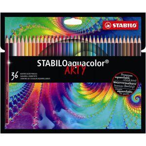Kleurpotlood Stabilo Arty Aquacolor: 36 stuks