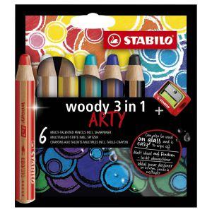Stabilo woody 3 in 1 arty