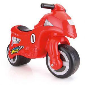 Loopfiguur motor rood