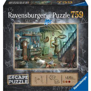 Escape room puzzel 8 Forbidden Basement