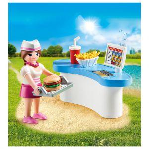 Playmobil 70084 Dienster Met Kassa
