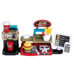 Burgershop met Accessoires