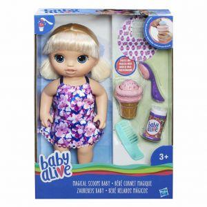 Baby Alive blond magische lepel