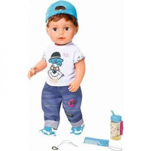 Baby Born Pop Soft Touch Brother Met Functies 43 Cm