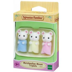 Sylvanian Families drieling Marshmellow muis