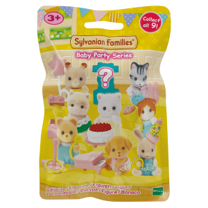 Sylvanian familie baby party verrassing