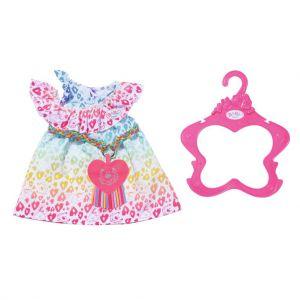 Baby Born regenboog jurkje