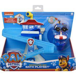Paw patrol adventrue bath set met lichtgevend Chase-voertuig