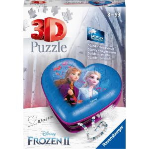 Hartendoosje Frozen 2 3D (54 Stukjes)