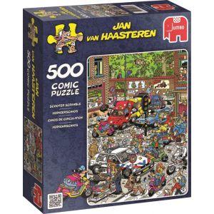 Puzzel 500 JVH Verkeerschaos