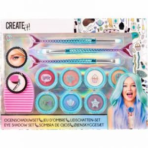 Create It! Make-Up Set Oogschaduw Met Penselen