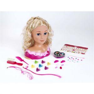 Kapkop Met Make Up Princess Coralie 33 Cm