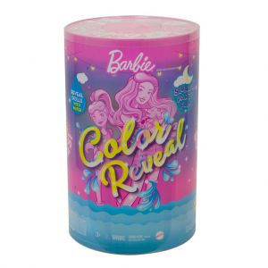 Barbie colour reveal Slumber