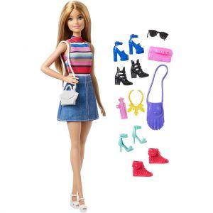 Barbie pop en schoenen