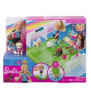 Barbie Dreamhouse Adventures Voetbalspeelset