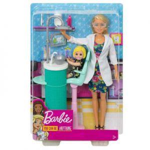 Barbie tandartspop en speelset