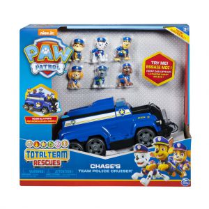 Paw Patrol Team Rescue Vehicle Chase