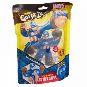 Goo Jit Zu Superheroes Captain America