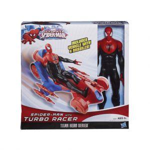 Actiefiguur Spider-Man Met Raceauto 30cm