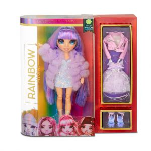 Rainbow Surprise Fashion Doll Violet Willows
