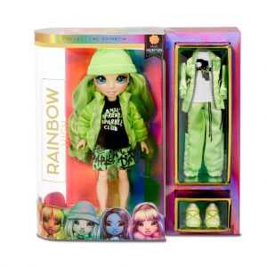 Rainbow Surprise Fashion Doll Jade Hunter