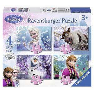 Puzzel Frozen 12-16-20-24