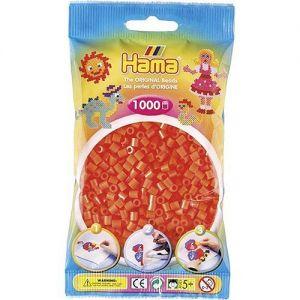 Strijkkralen oranje 1000