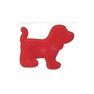 Strijkkralen bord hond