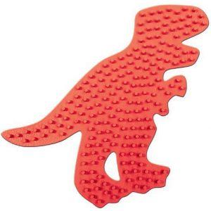 Strijkkralen bord T-Rex