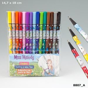 Miss Melody Fineliner 15 kleuren