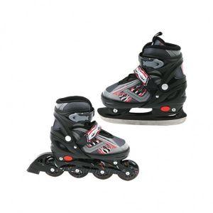 Inline Skate/Schaats Zwart 31-34 Abec 7