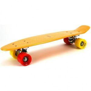 Skateboard Alert 55 Cm, ABEC 7 Oranje