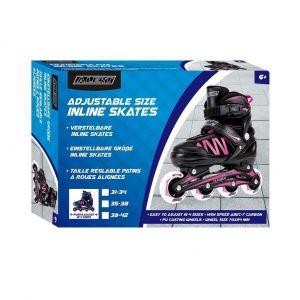 Inline Skate Maat 39-42 Roze Alert