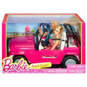 Barbie Beach Cruiser met barbie en ken